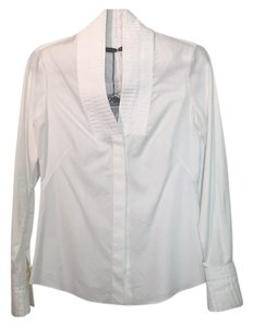 Alexander McQueen Button Down Shirt White