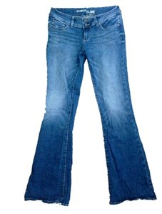 Bullhead Flare Leg Jeans-Light Wash