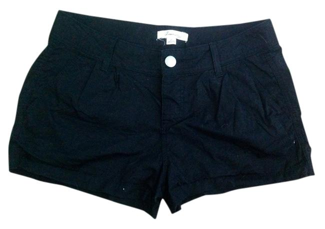 Forever 21 Cuffed Shorts Black