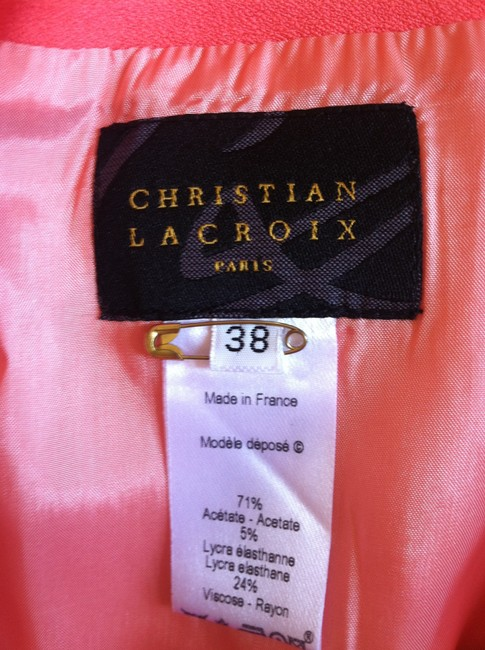 Christian Lacroix Skirt coral