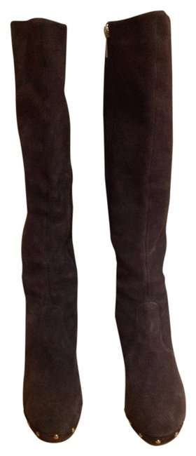 Colin Stuart Chocolate Brown Tall Boots/Booties Size US 8.5 Regular (M, B) Colin Stuart Chocolate Brown Tall Boots/Booties Size US 8.5 Regular (M, B) Image 1