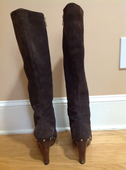 Colin Stuart Chocolate Brown Tall Boots/Booties Size US 8.5 Regular (M, B) Colin Stuart Chocolate Brown Tall Boots/Booties Size US 8.5 Regular (M, B) Image 4