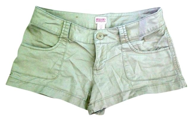 Mossimo Supply Co. Mini/Short Shorts Khaki