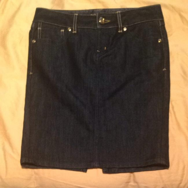 Guess Skirt Dark Denim