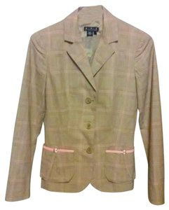 Magaschoni Jacket 2 Season Patent Leather VINTAGE GREY PINK Blazer