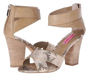 Betsey Johnson New Brand New Tan Nude Sandals