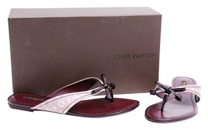 Louis Vuitton Monogram Thong Sandal * Purple Flats
