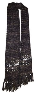 Free People Multicolor Knit Scarf
