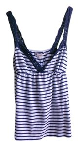 Abercrombie & Fitch Juniors Hollister Hco Striped Top Blue