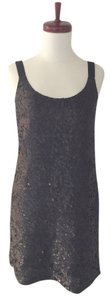 Theory Sequin Shift Sleeveless Dress