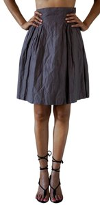 H&M Low Rise A Line Skirt Pink Brown