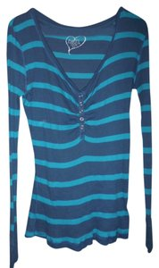Rue 21 Top light and dark blue