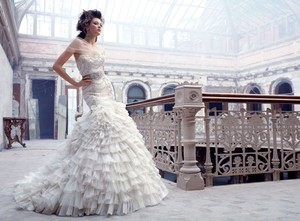 Lazaro 3150 Wedding Dress