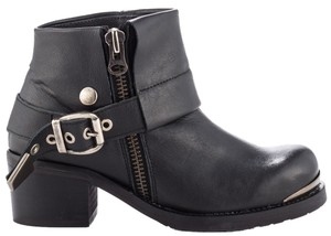 Sixtyseven Rocker Festival Leather Black Boots
