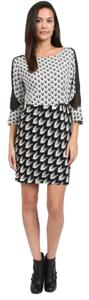 Rag & Bone Black Printed Dress