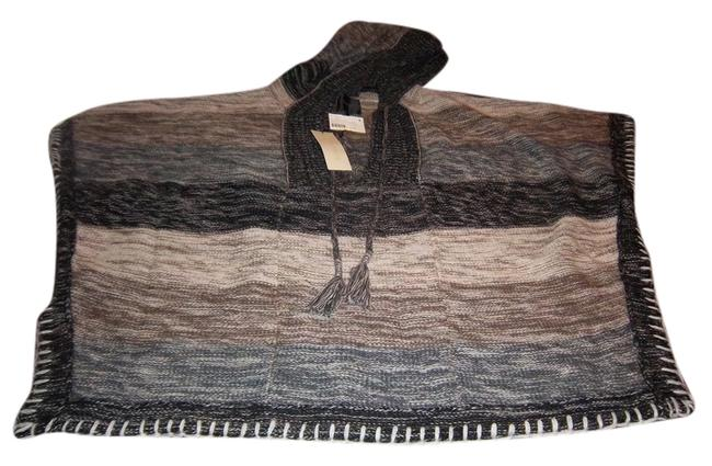 Preload https://img-static.tradesy.com/item/1127542/mm-couture-blk-wht-and-tan-multi-colored-ponchocape-size-6-s-0-0-650-650.jpg