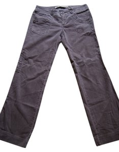 Anthropologie Boot Cut Pants chocolate