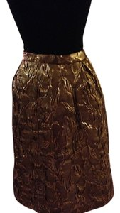 Michael Kors Collection Italy Skirt gold