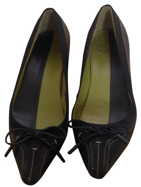 Cole Haan Black G Series Leather & Stretch Fabric Pumps Size US 5 Regular (M, B) Cole Haan Black G Series Leather & Stretch Fabric Pumps Size US 5 Regular (M, B) Image 1