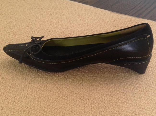 Cole Haan Black G Series Leather & Stretch Fabric Pumps Size US 5 Regular (M, B) Cole Haan Black G Series Leather & Stretch Fabric Pumps Size US 5 Regular (M, B) Image 2