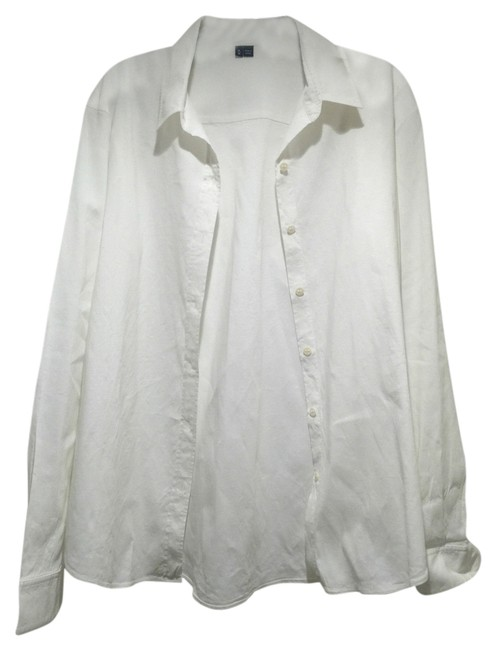 Preload https://item3.tradesy.com/images/theory-white-shirt-button-down-top-size-8-m-11276467-0-1.jpg?width=400&height=650