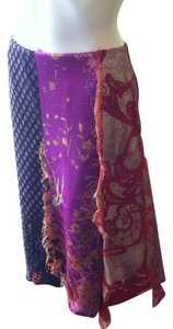 Christian Lacroix Multi Media Knee-length Skirt Mulit-Color