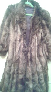 Anne Klein Fur Coat