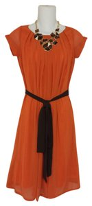 WAHINE COUTURE HONOLULU short dress Orange Drape on Tradesy