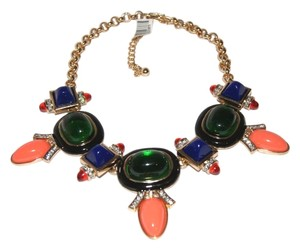 Kenneth Jay Lane Kenneth Jay Lane Deco Bib Necklace