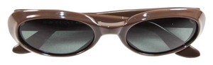 Gucci Vintage Authentic GUCCI Sunglasses Oval Brown GG 2419/S Plastic Frame
