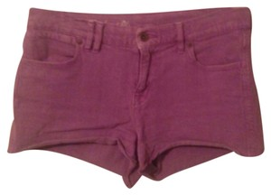 Madewell Mini/Short Shorts Purple denim