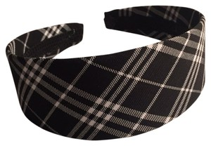 Bloomingdale's Plaid Head Band