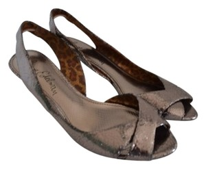 Sam Edelman Silver/metallic Black Sandals