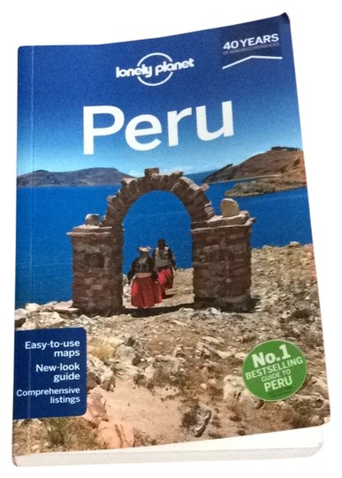lonely planet Lonely Planet Peru Book
