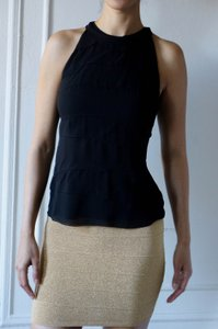 Vince Layers Without Sleeve Top black