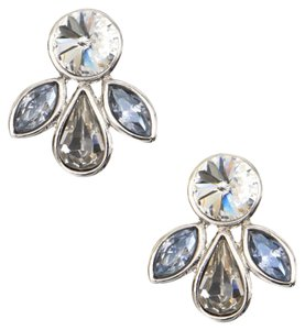 Givenchy Givenchy Crystal Cluster Earrings