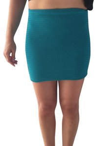 BCBGeneration Mini Skirt Teal