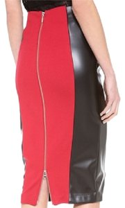 5th & Mercer Skirt Black Red