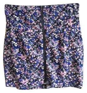 American Eagle Outfitters Mini Skirt Multi-Color