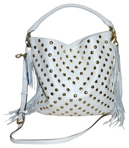 Rebecca Minkoff Studded Leather Clark Hobo Bag