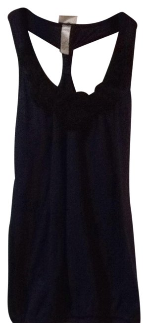 Julia Top Navy Blue With Black Accents