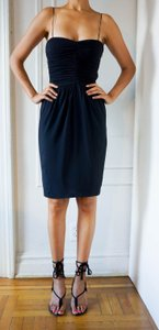 Zara short dress Blue Indigo Fashion Trendy New on Tradesy