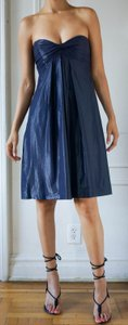 Nicole Miller Blue Fashion Trendy New Dress