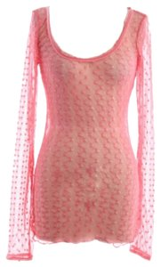 Free People Top Coral Pink