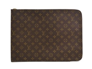 Louis Vuitton Auth LOUIS VUITTON Poche documents Briefcase Monogram M53456 (BF090964)