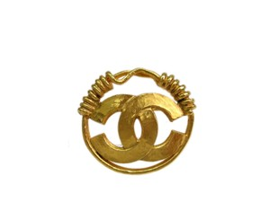 Chanel Auth CHANEL COCO Broach Metal Gold (BF086177)