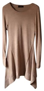 Thakoon short dress Camel Sweater Handkerchief Hem on Tradesy