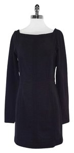Diane von Furstenberg short dress Black Long Sleeve on Tradesy
