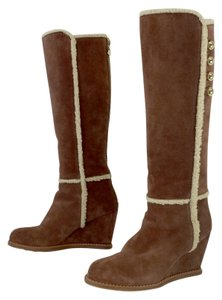 Kate Spade Brown Suede Winter Boots