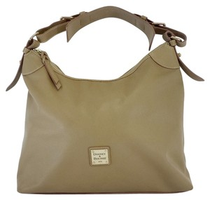 Dooney & Bourke Tan Leather Shoulder Bag